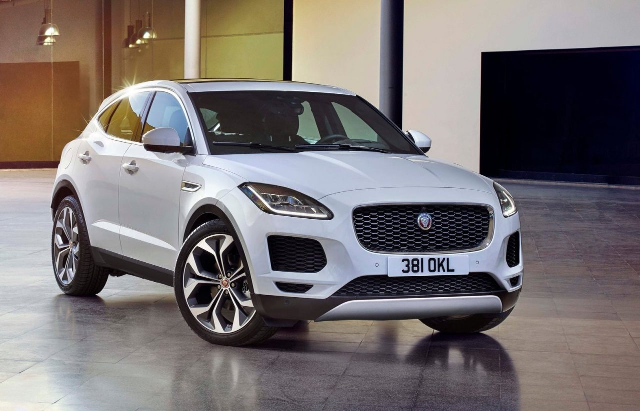 jaguar e pace revealed as all new small suv video performancedrive. Black Bedroom Furniture Sets. Home Design Ideas