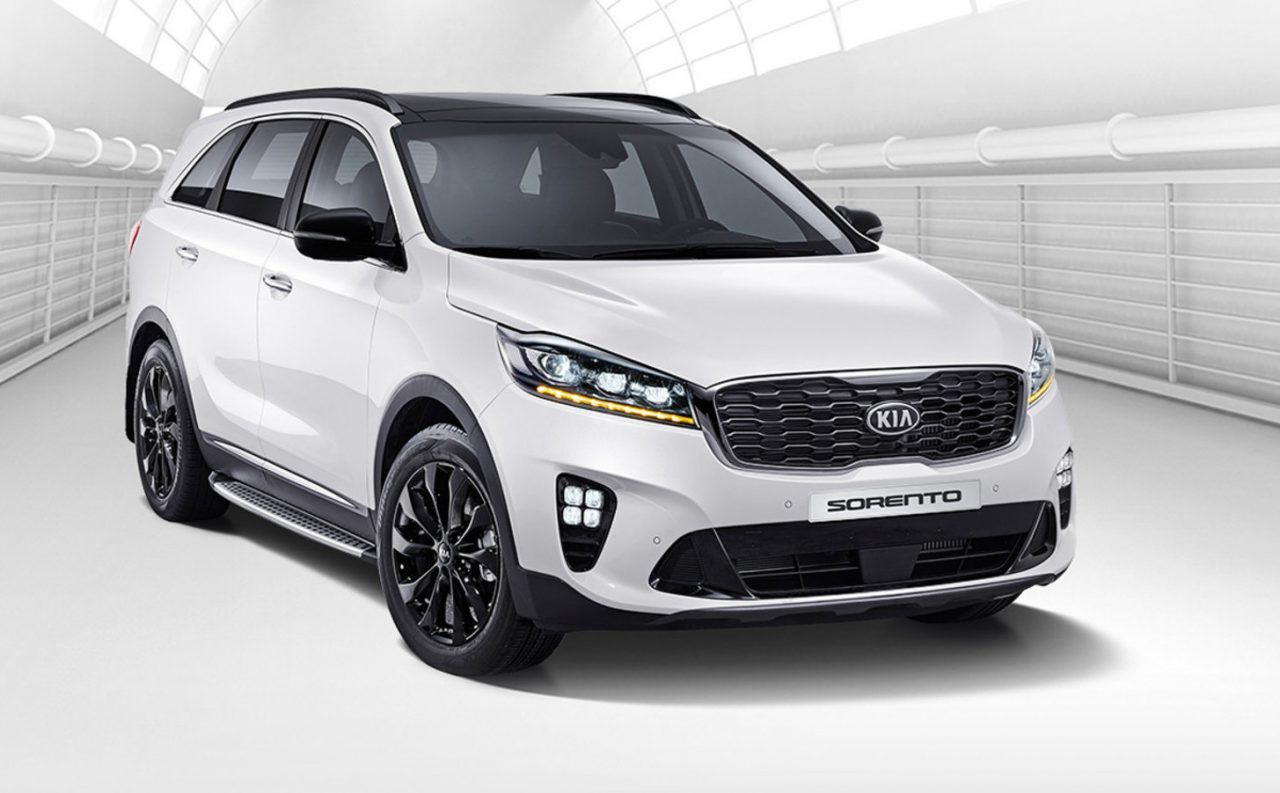 2018 kia sorento revealed updated tech and design performancedrive. Black Bedroom Furniture Sets. Home Design Ideas