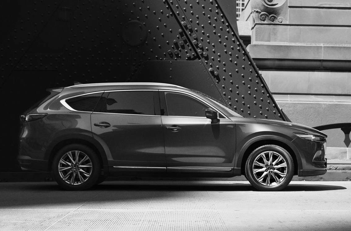Mazda unveils CX-8, but Australia ruled out