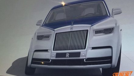 2018 Rolls-Royce Phantom VIII leaked online