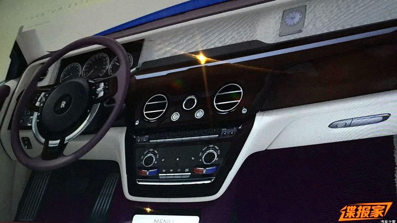 2018 Rolls Royce Phantom Interior Leak
