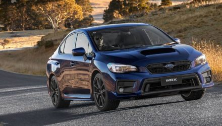 2018 Subaru WRX & WRX STI on sale in Australia, STI spec.R added