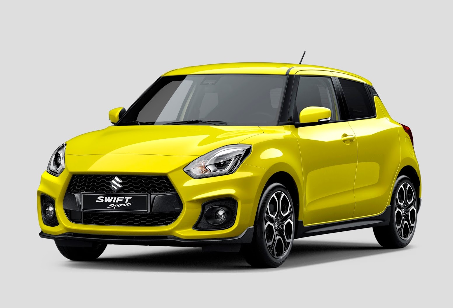 2018 suzuki swift sport revealed via leaked image. Black Bedroom Furniture Sets. Home Design Ideas