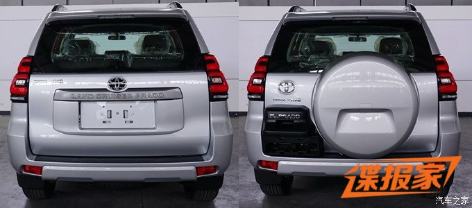 2018 Toyota Prado revealed updated design inside  out