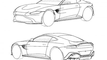 Next-gen Aston Martin Vantage previewed via patent images