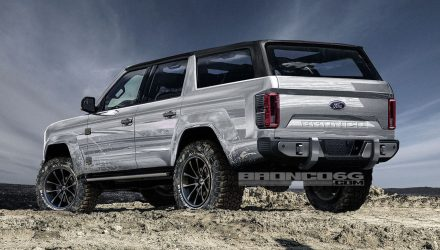New Ford Bronco to be 4-door only, renderings show potential