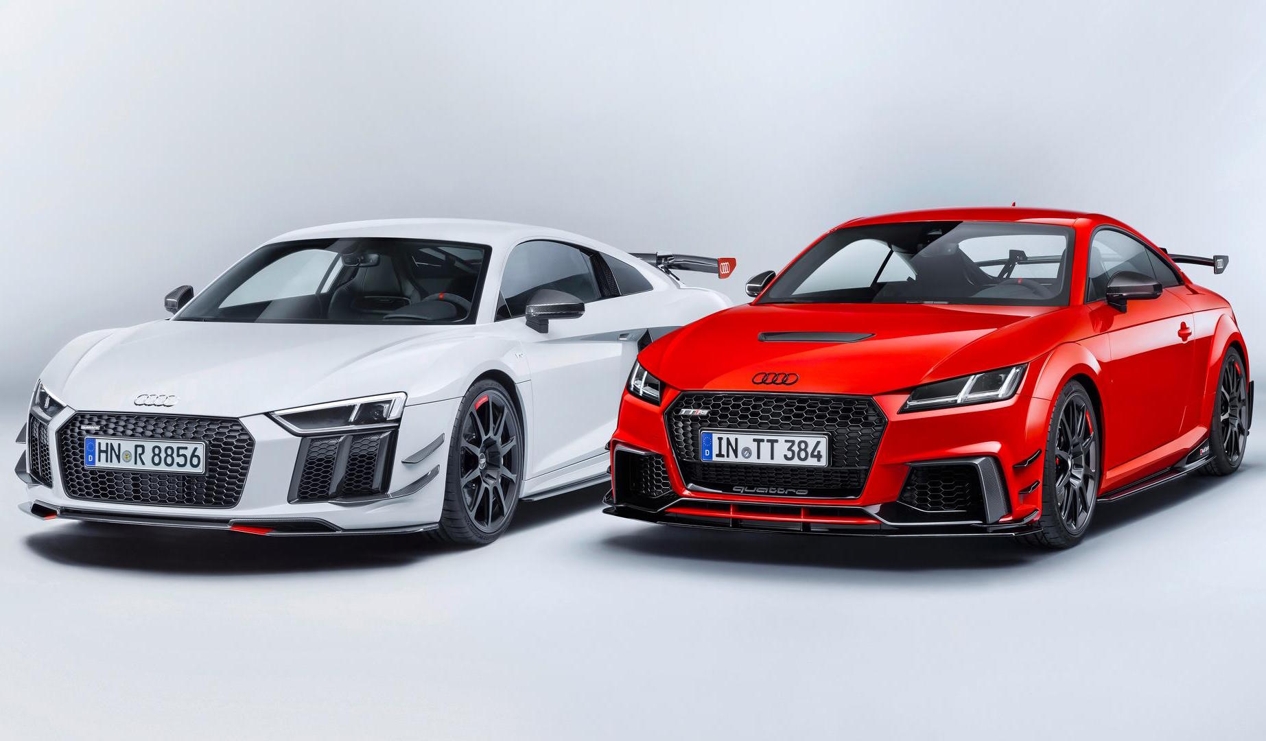 audi sport announces racy performance parts accessories for tt r8 performancedrive. Black Bedroom Furniture Sets. Home Design Ideas