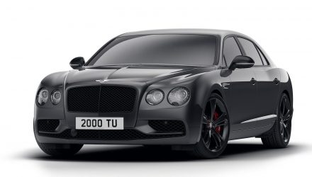 Bentley Flying Spur V8 S Black Edition purrs onto the scene