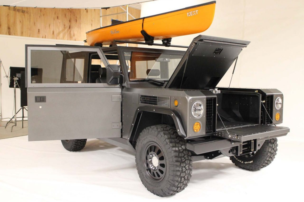 Bollinger B1 Ev 0 100km H In 4 5 500mm Ground Clearance