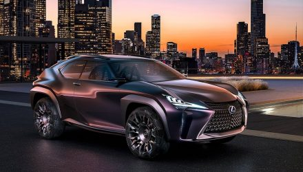 Lexus UX production version, 7-seater RX to debut at Tokyo show