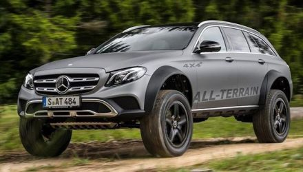 Mercedes-Benz E-Class All-Terrain 4×4² concept is just nuts