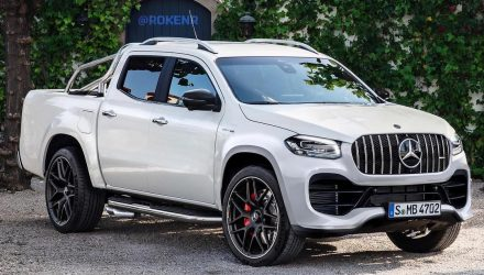 Mercedes-Benz X-Class '63 AMG' ute rendered – has potential?