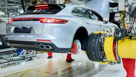 Porsche Panamera Sport Turismo production commences