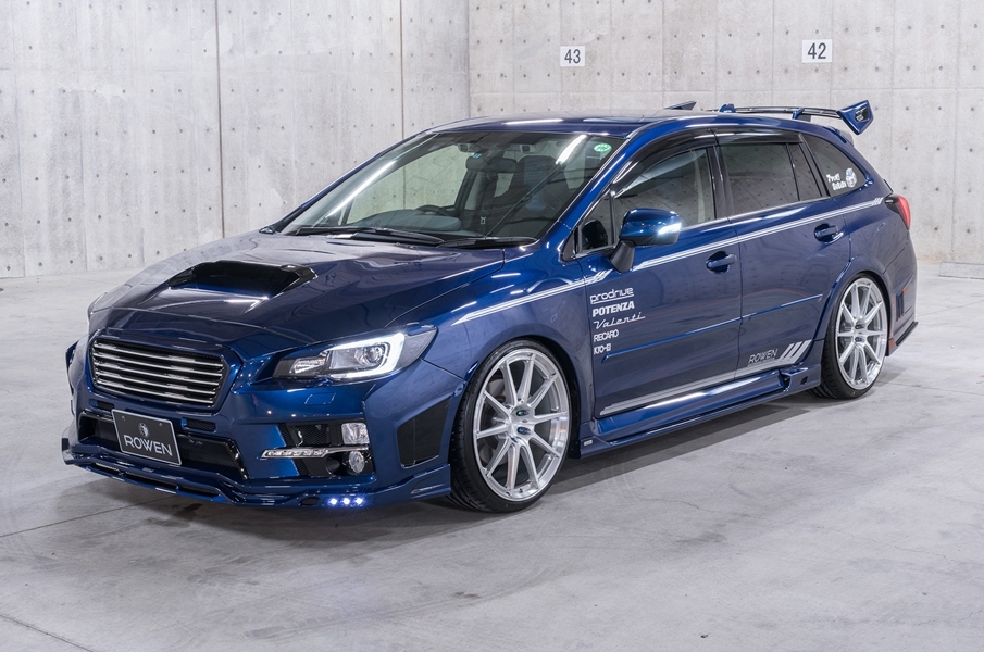 subaru levorg shows its tuning side with rowen kit. Black Bedroom Furniture Sets. Home Design Ideas