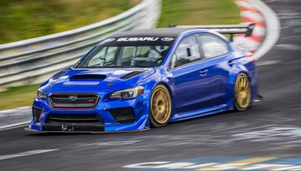 Subaru WRX STI Type RA sets new Nurburgring record
