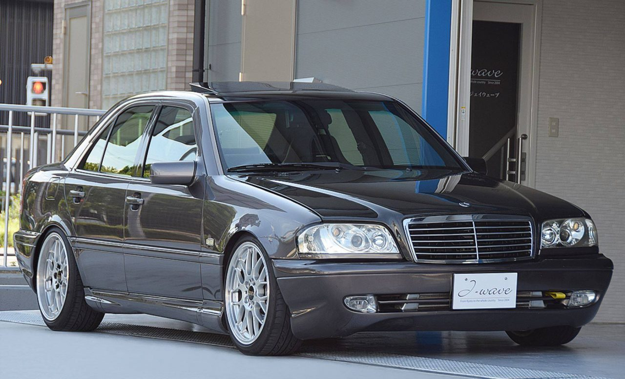 For Sale: 1995 Mercedes C 200 with turbo Honda S2000 conversion | PerformanceDrive