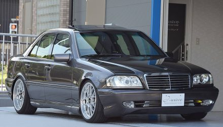 For Sale: 1995 Mercedes C 200 with turbo Honda S2000 conversion