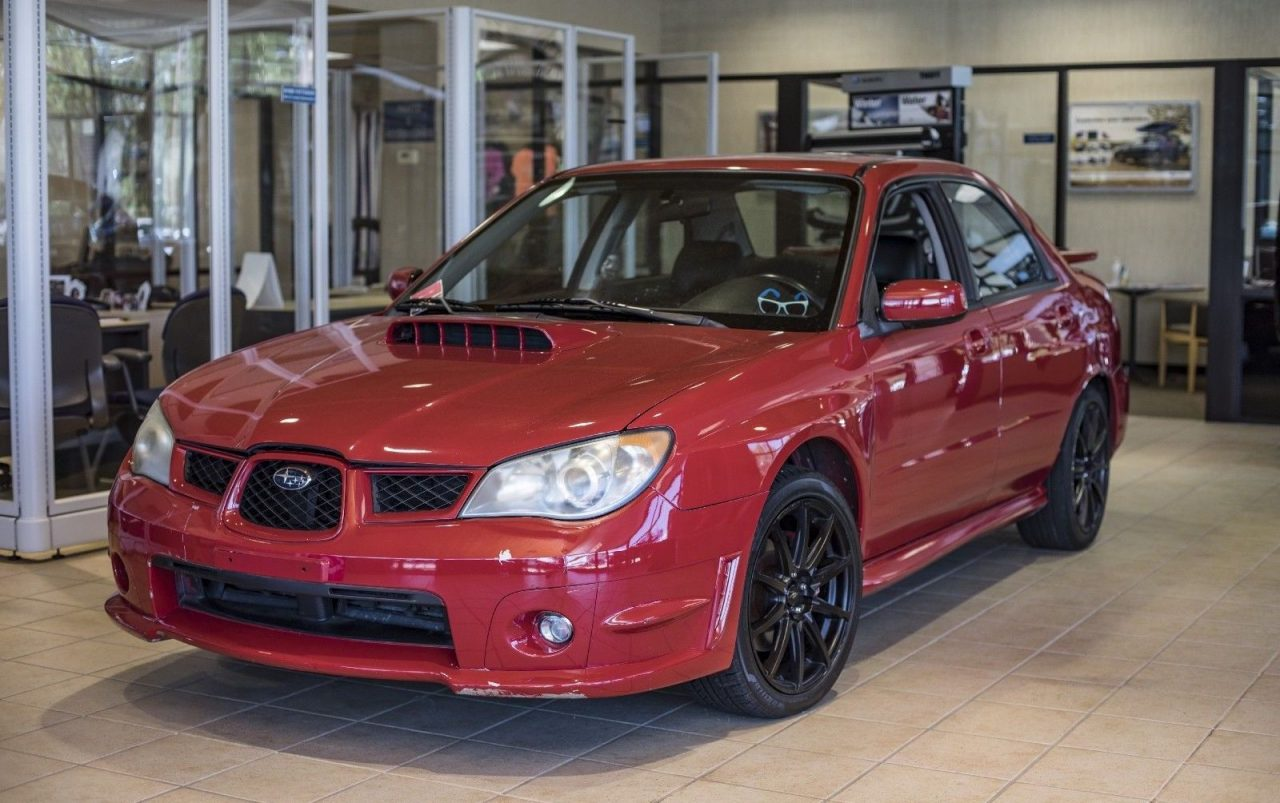 For Sale 2006 Subaru Wrx From Baby Driver Film Rwd