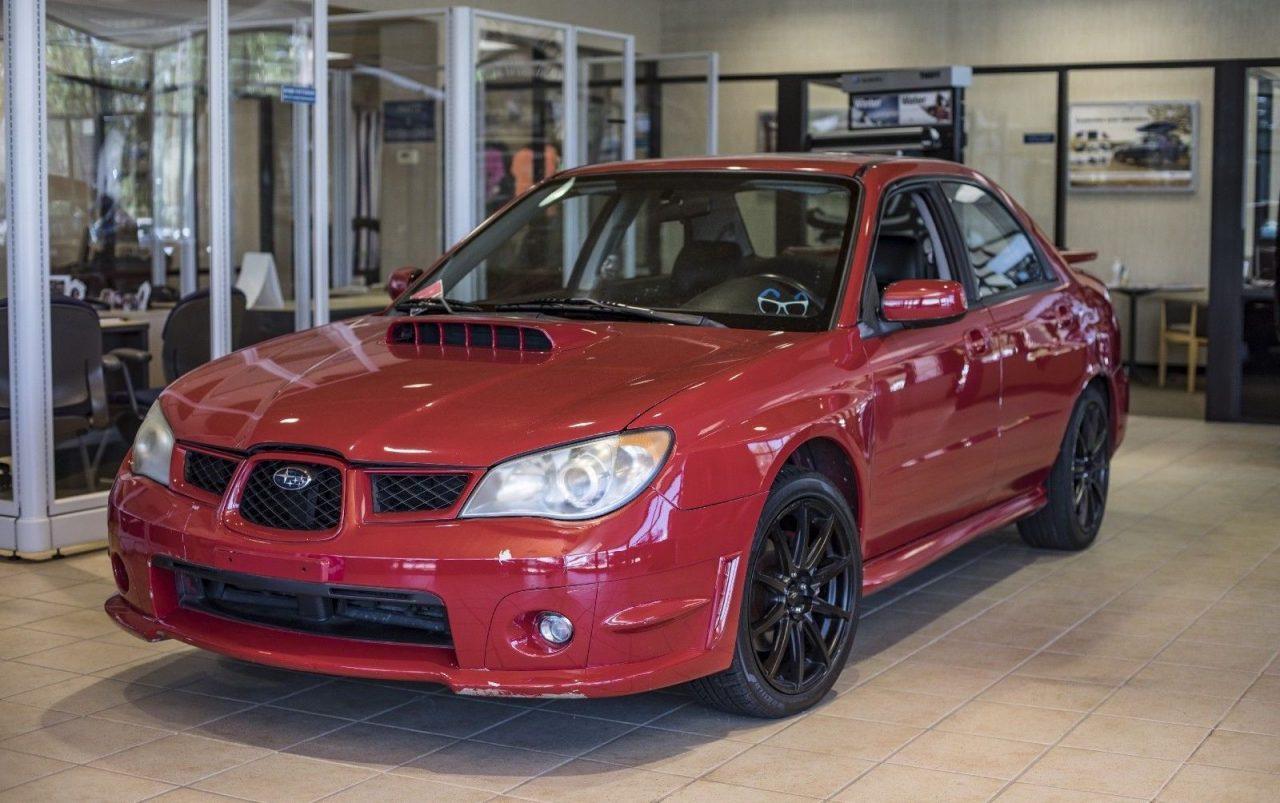 For Sale: 2006 Subaru WRX from Baby Driver film, RWD conversion | PerformanceDrive