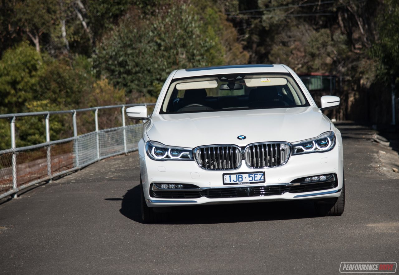 2017 BMW 750i Headlights