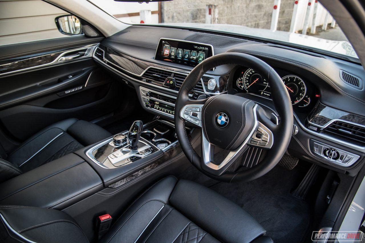2017 BMW 750i Interior