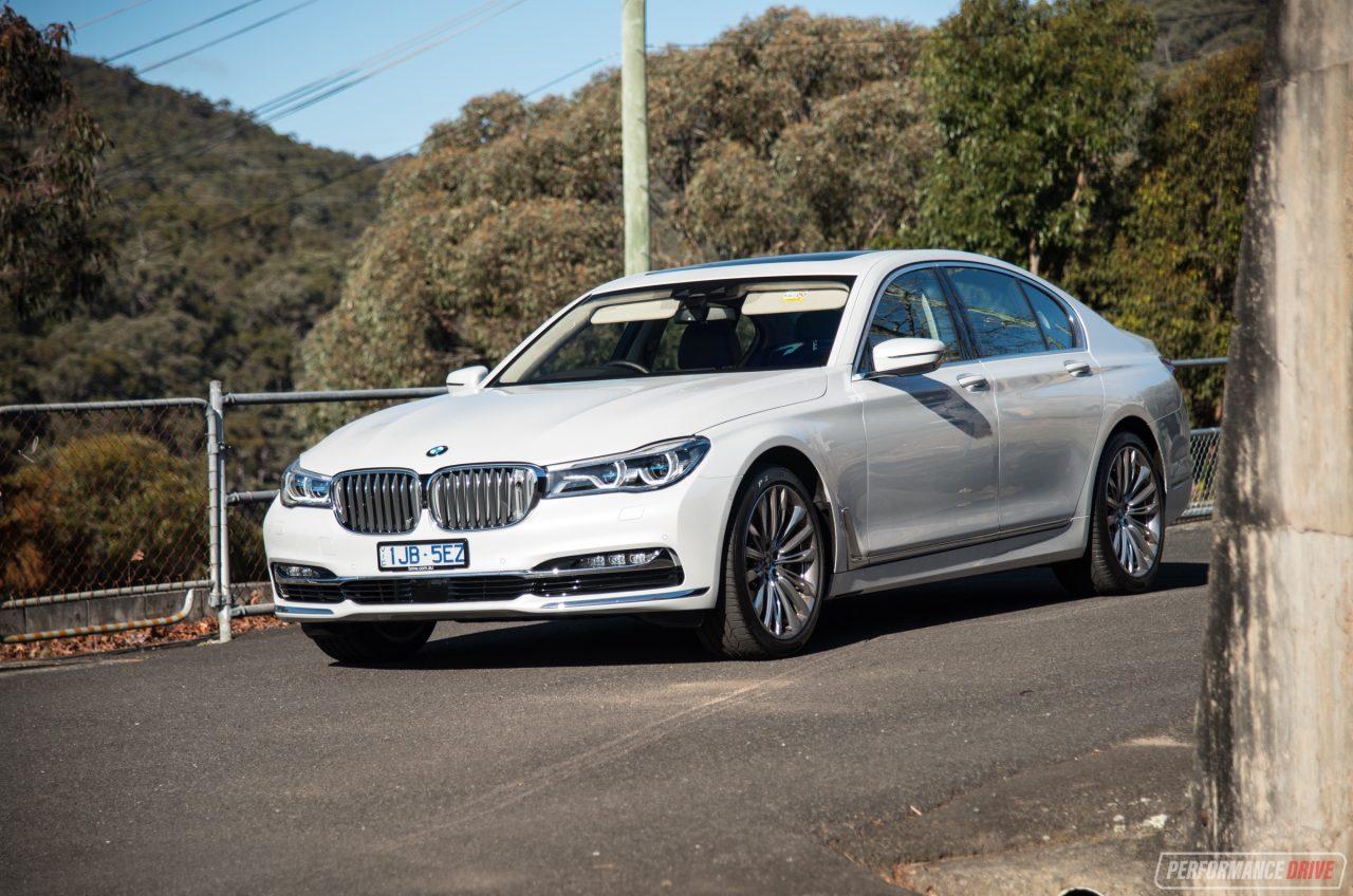 2017 BMW 750i White