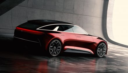 "Striking Kia ""extended hot hatch"" concept previews next cee'd"