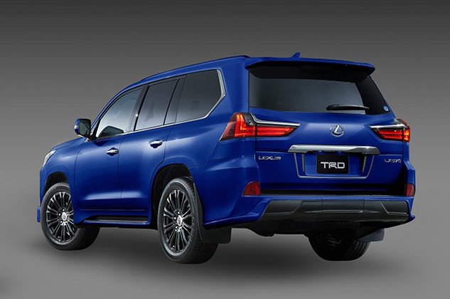 trd introduces aero kit for lexus lx 570 performancedrive