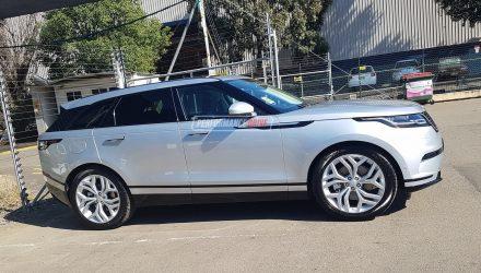 Range Rover Velar spotted in Australia again, D240 & D300 variants