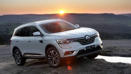 2017 Renault Koleos diesel now on sale in Australia