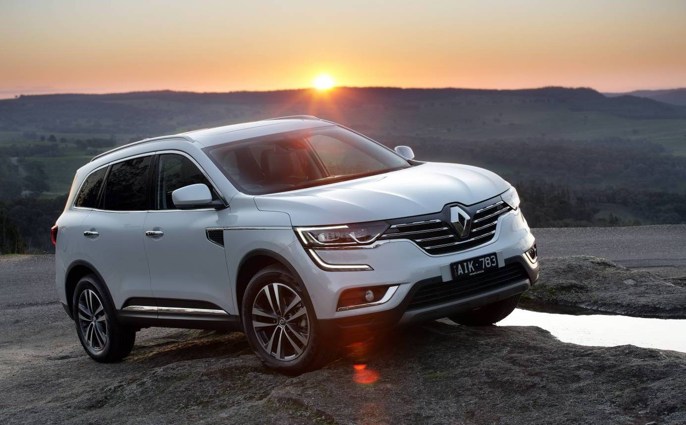 2017 renault koleos diesel now on sale in australia. Black Bedroom Furniture Sets. Home Design Ideas