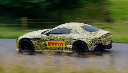 2018 Aston Martin Vantage previewed via prototype images