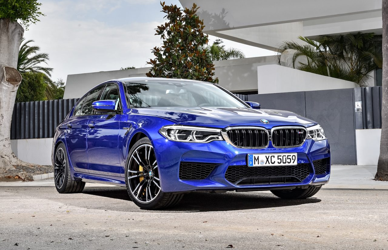 2018 bmw m5 officially revealed 0 100km h in 3 4 seconds performancedrive. Black Bedroom Furniture Sets. Home Design Ideas