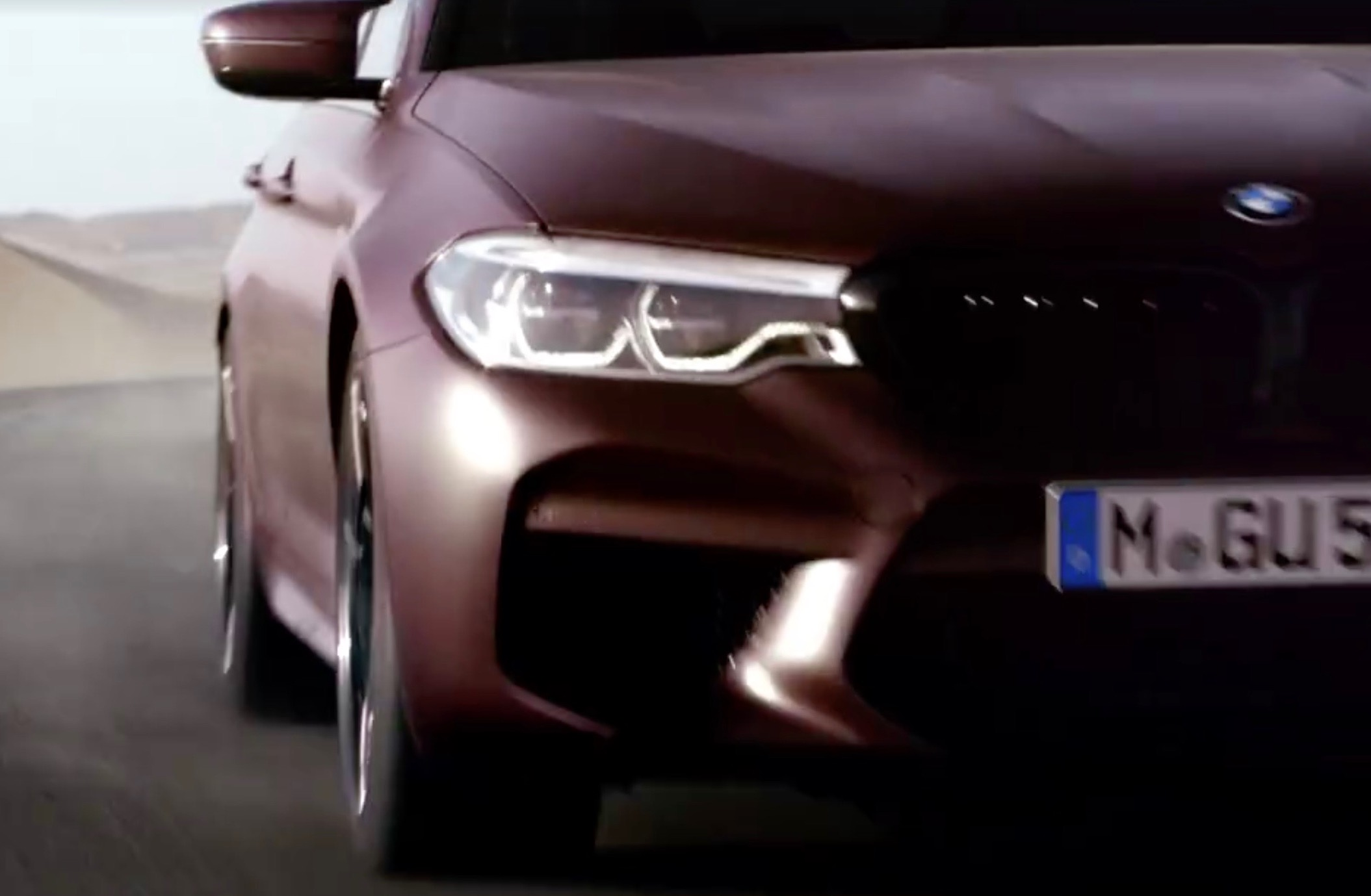 BMW M5 set to debut on August 21