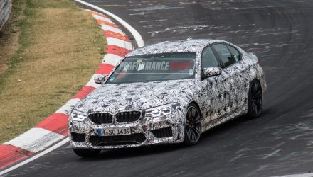 2018 BMW M5 prototypes continue testing at Nurburgring (video)