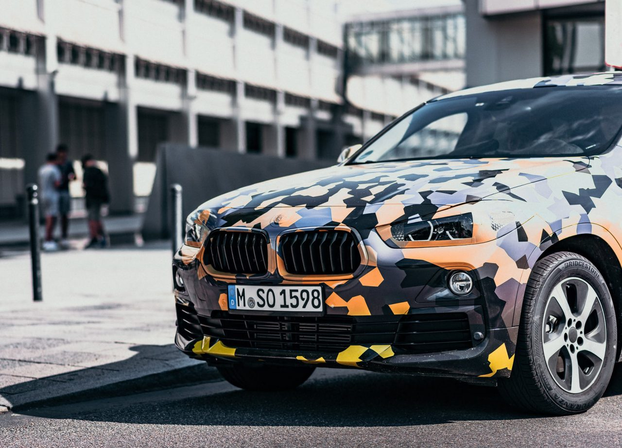 Bmw X2 Prototype Hits The Quot Urban Jungle Quot With Unique