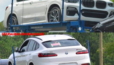 2018 BMW X4 spotted undisguised, M40d confirmed