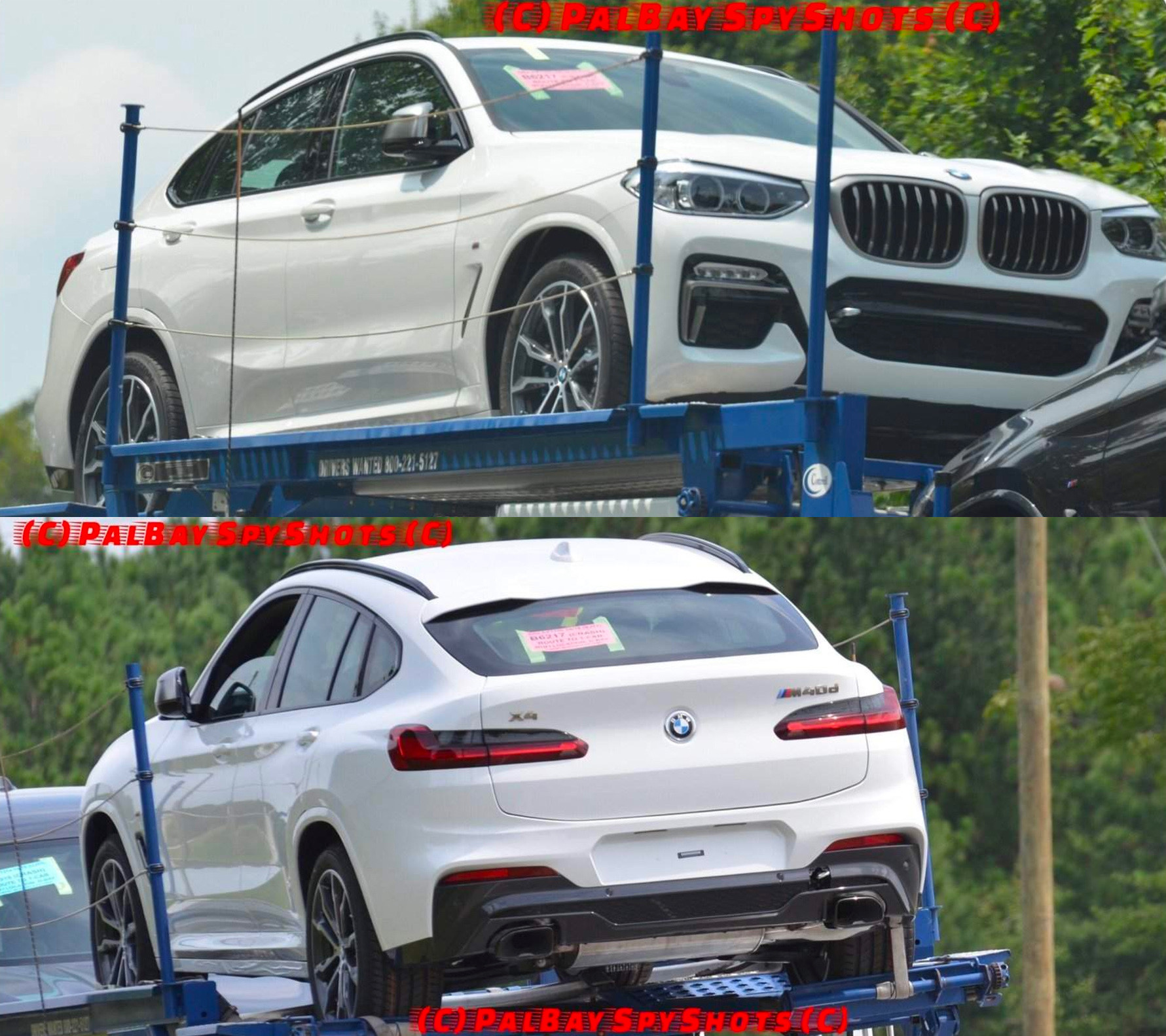 2018 bmw x4 spotted undisguised m40d confirmed performancedrive. Black Bedroom Furniture Sets. Home Design Ideas