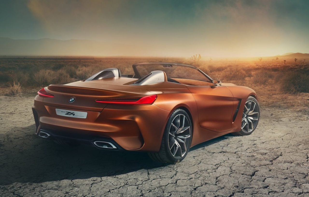 bmw z4 concept revealed production model coming in 2018 performancedrive. Black Bedroom Furniture Sets. Home Design Ideas