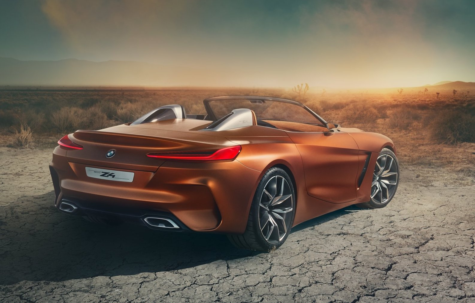 Bmw Z4 Concept Revealed Production Model Coming In 2018