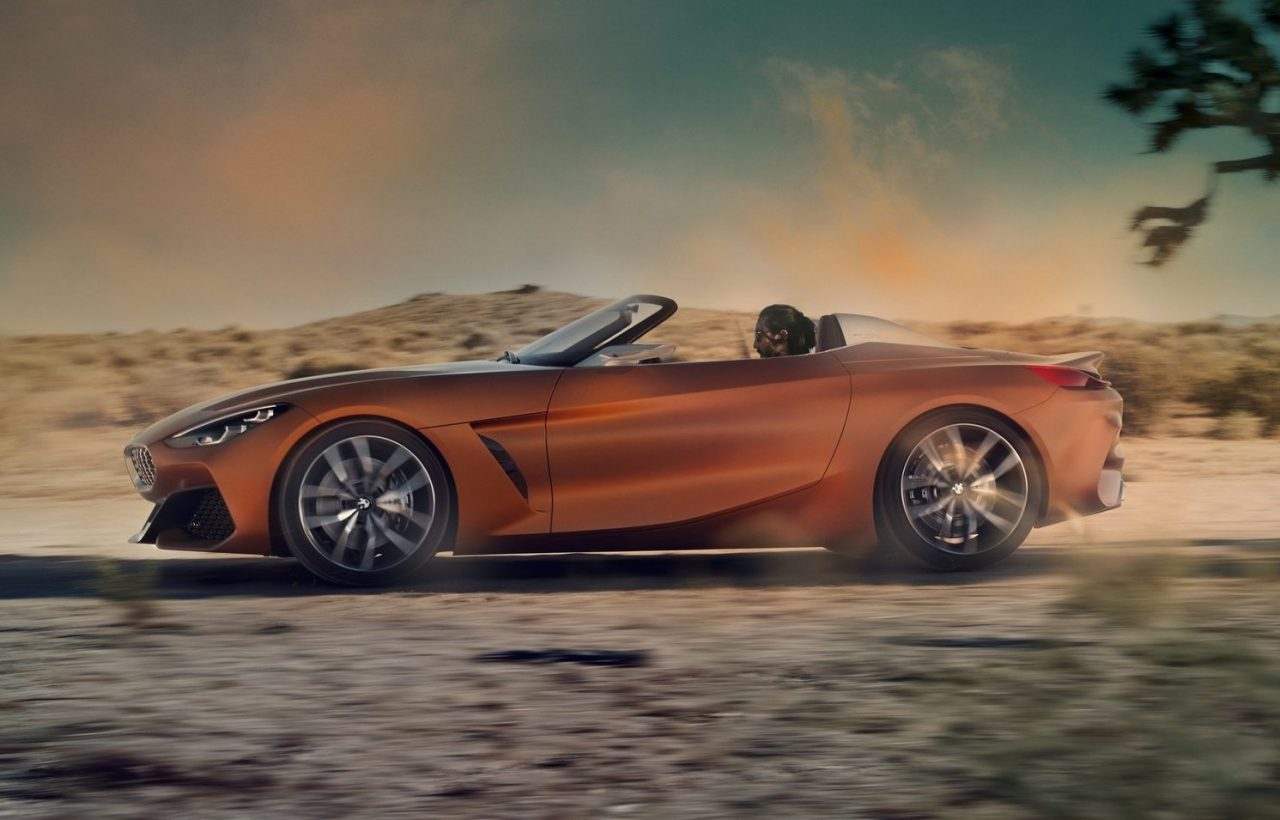 bmw z4 concept revealed production model coming in 2018. Black Bedroom Furniture Sets. Home Design Ideas