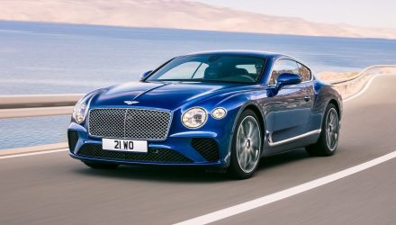 2018 Bentley Continent GT unveiled, debuts 8spd dual-clutch auto