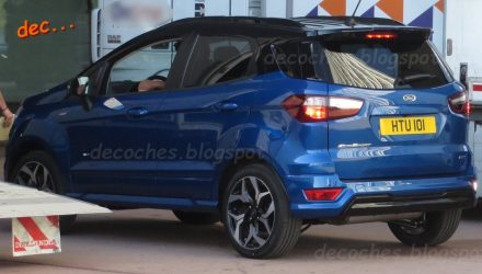 Ford EcoSport gets the ST-Line treatment, spied in Spain