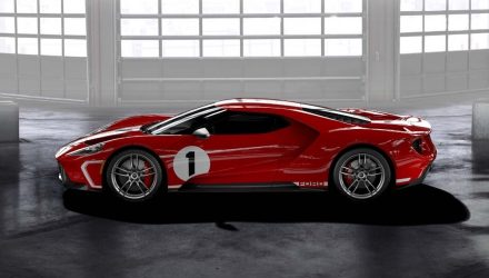 Ford GT '67 Heritage edition pays tribute to Le Mans win