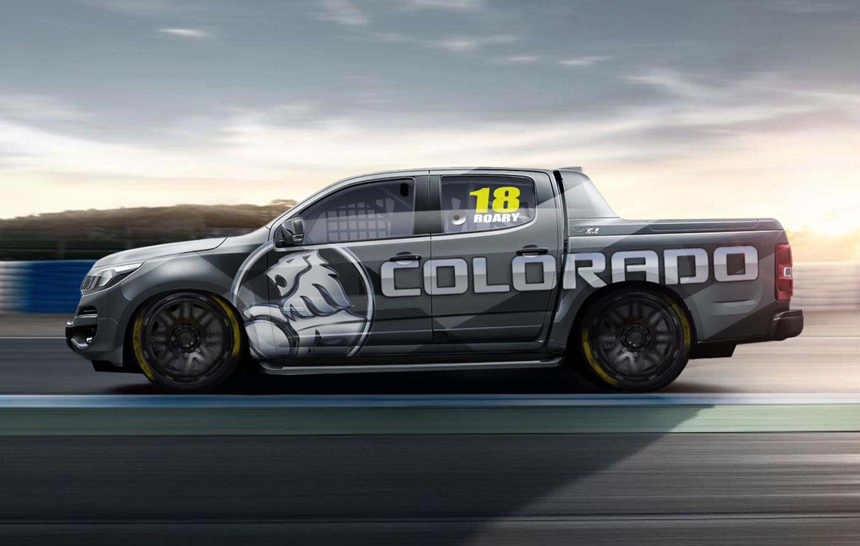2018 Holden Colorado SuperUtes Racer Revealed