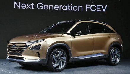 Hyundai previews next-gen FCEV, electric Kona confirmed
