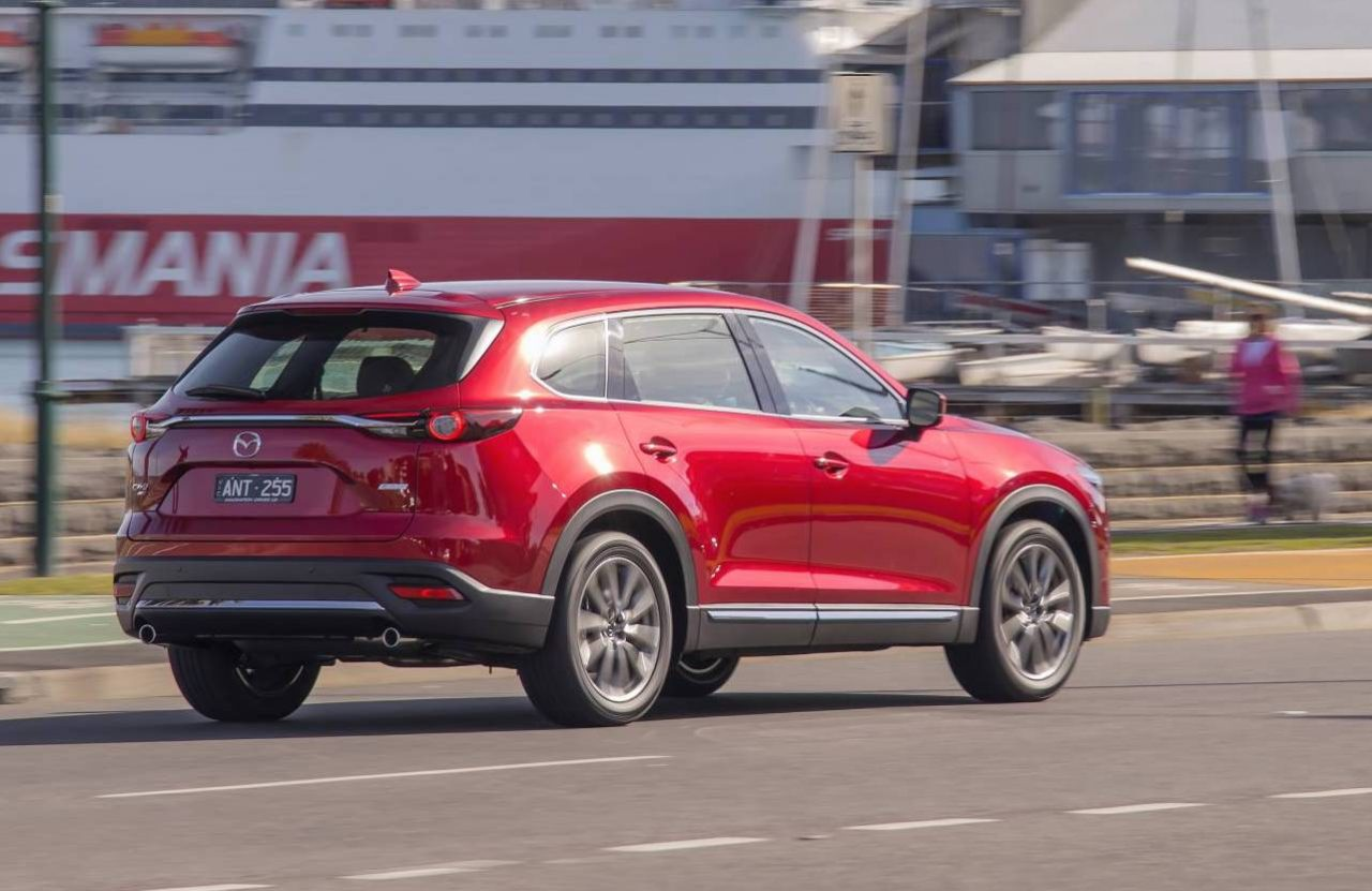2018 mazda cx 9 update adds g vectoring on sale from. Black Bedroom Furniture Sets. Home Design Ideas