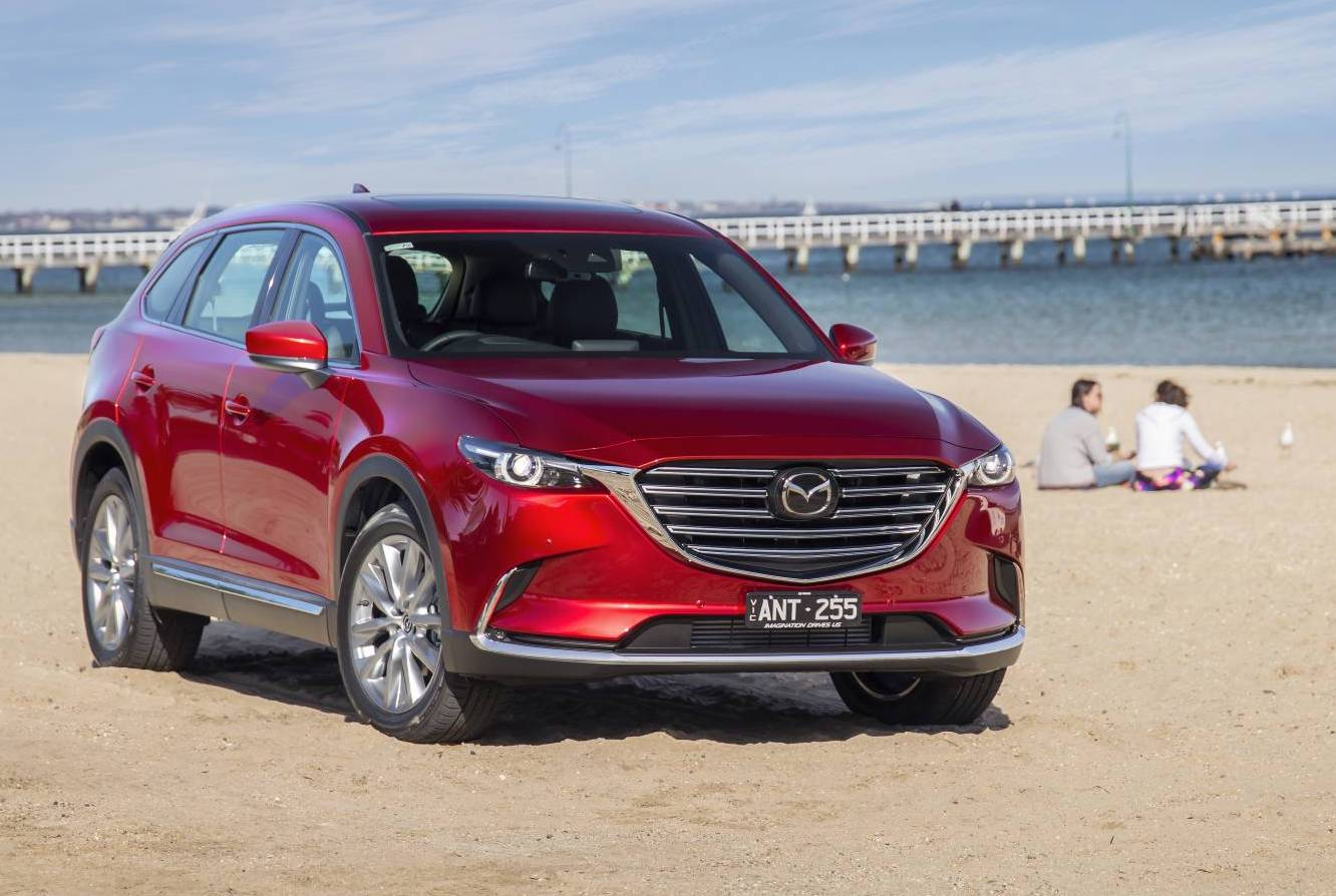 2018 mazda cx 9 update adds g vectoring on sale from 43 890 performancedrive. Black Bedroom Furniture Sets. Home Design Ideas