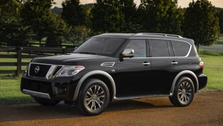 2018 Nissan Patrol (Armada) Y62 announced in the US, added tech