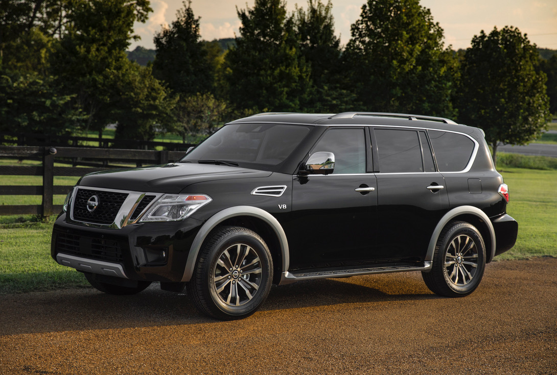 2018 nissan patrol armada y62 announced in the us added tech performancedrive. Black Bedroom Furniture Sets. Home Design Ideas